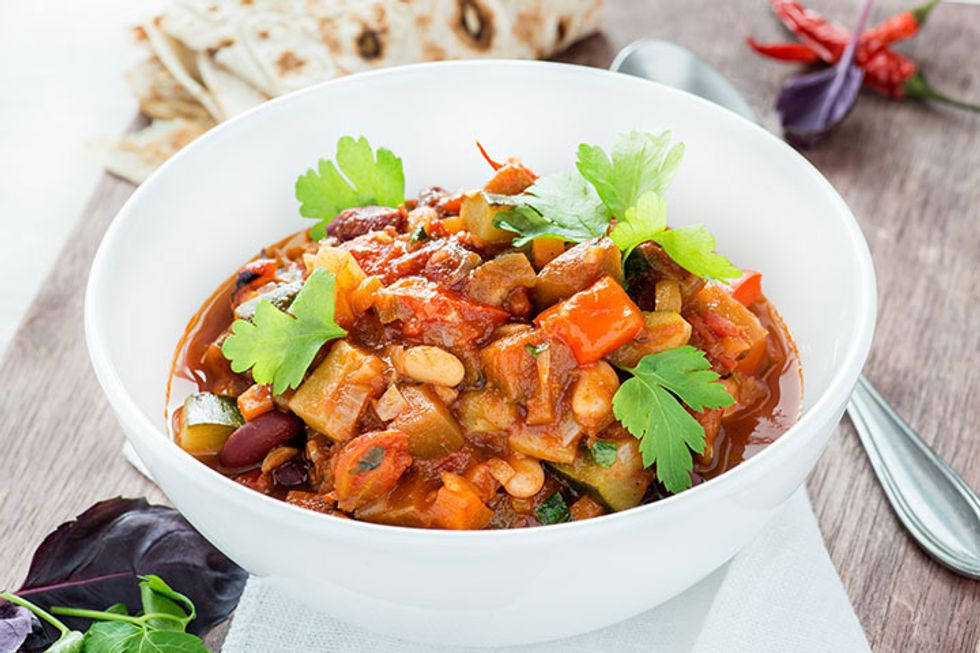 Fat-Melting Vegetarian Chili
