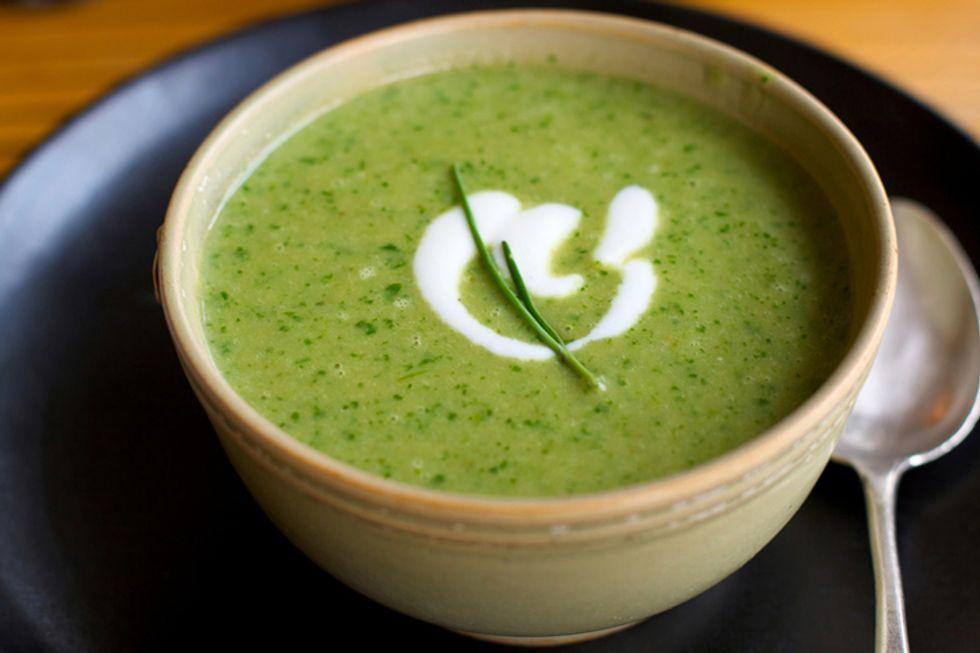 Cream of Celery Root Soup