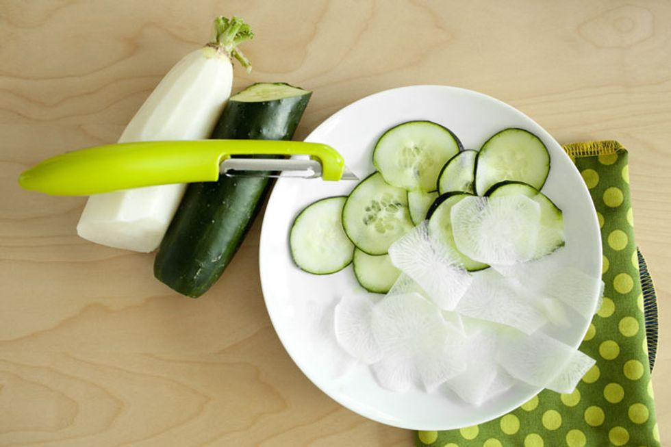 Cucumber Daikon Salad