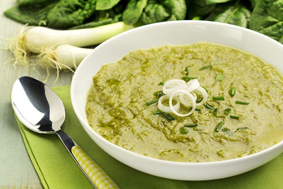 Creamy Spinach Coconut Soup