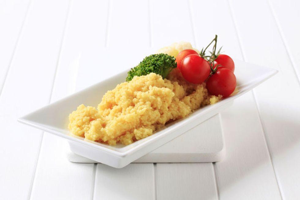 Curried Cauliflower Couscous