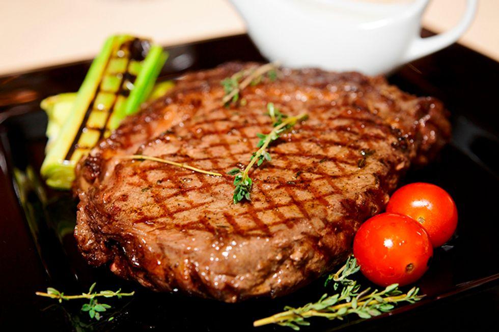 Southwest-Style Rib-Eye Steaks