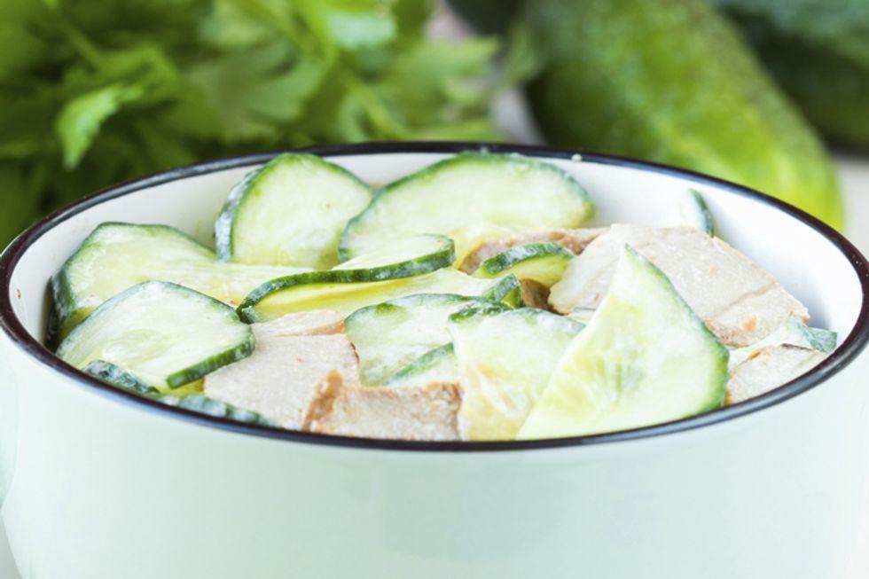 Crispy Chicken and Lettuce Wraps