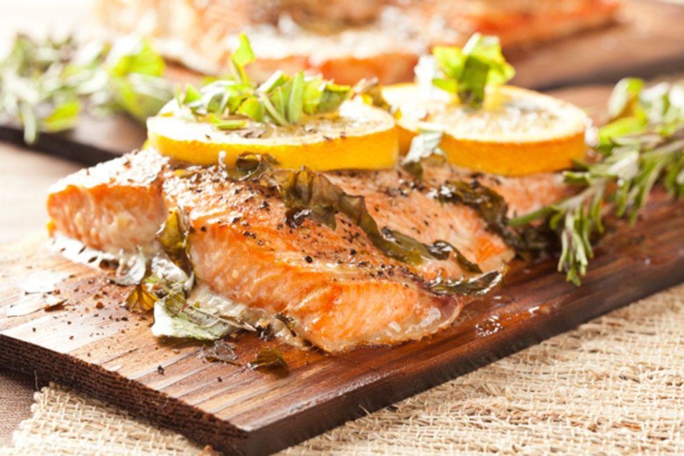 Dill-Spiced Salmon