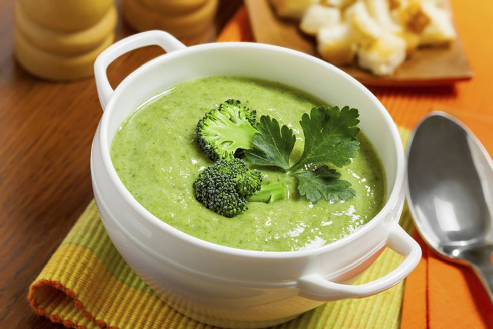 Robin Quivers' Silky Broccoli Soup