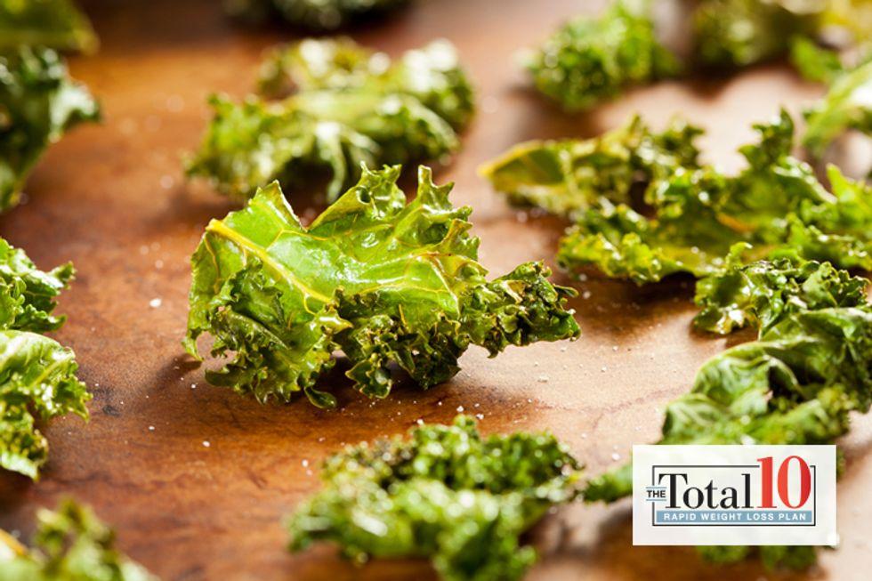 Total 10 Kale Chips