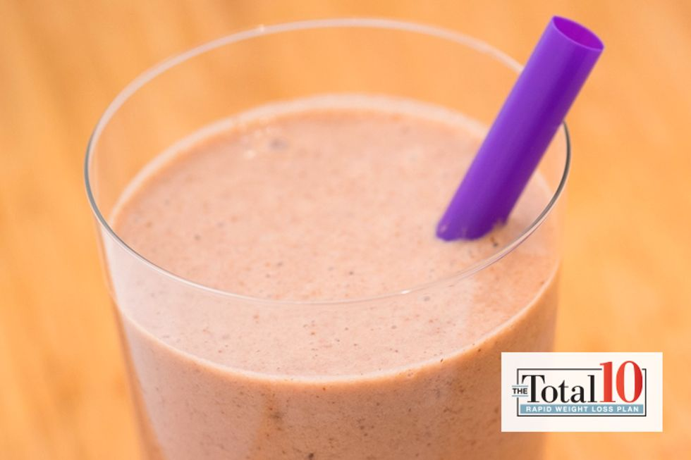 Total 10 Chocolate-Covered Almond Smoothie
