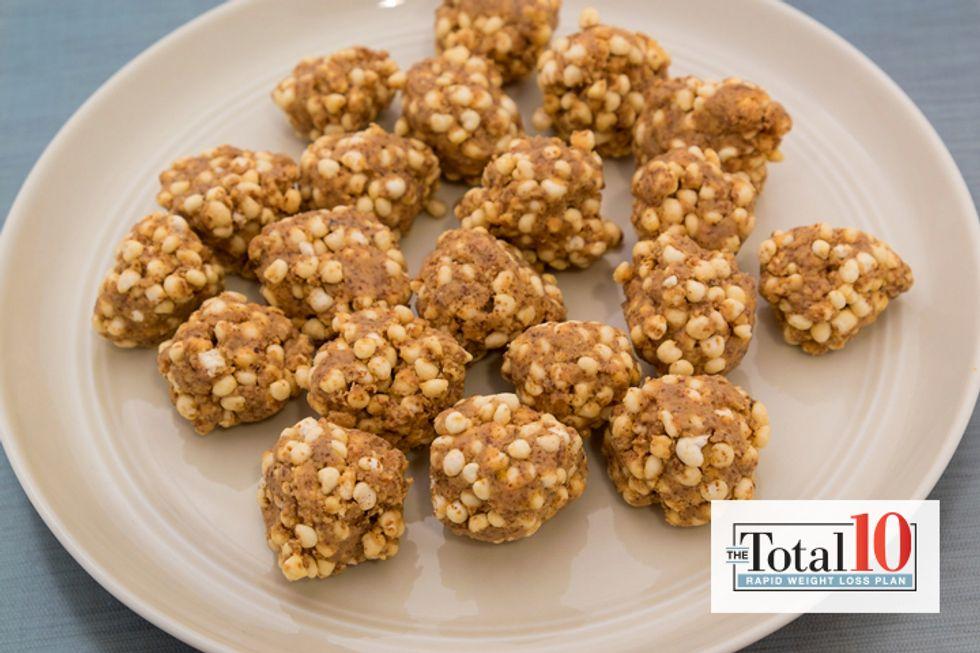 Total 10 Quinoa Almond Butter Balls