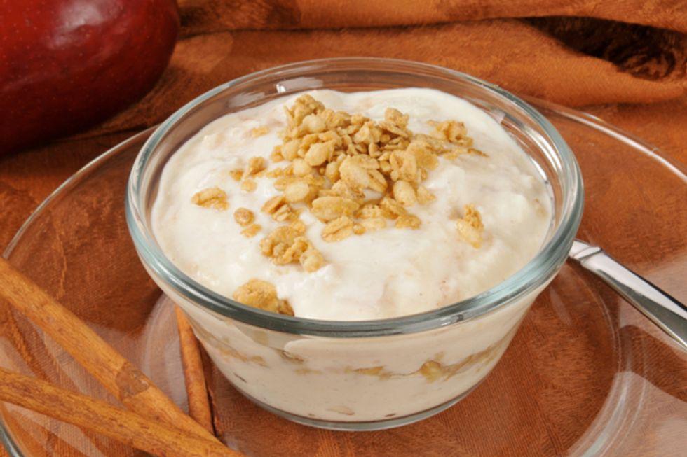 Apple-Cinnamon Yogurt