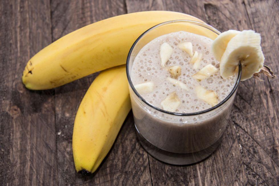 White Bean Apple Banana Smoothie