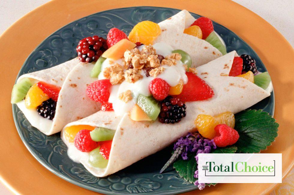 Total Choice Breakfast Berry Enchilada