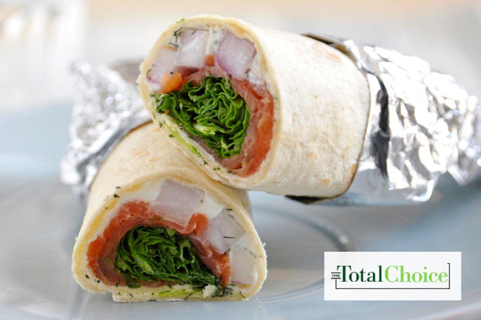Total Choice Smoked Salmon Wrap
