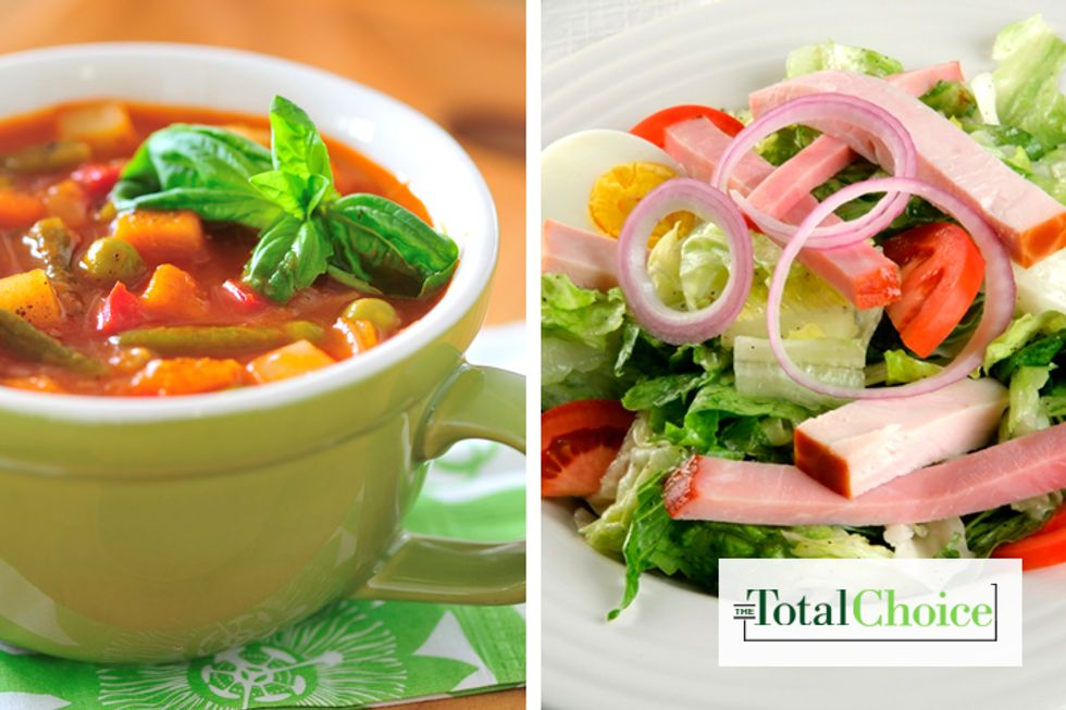Total Choice Chef Salad and Soup