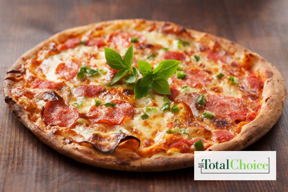 Total Choice Pepperoni Pita Pizza