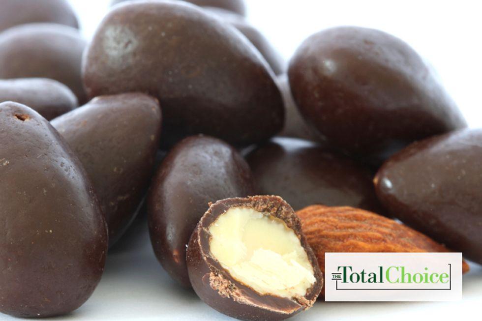 Total Choice Dark Chocolate Almonds