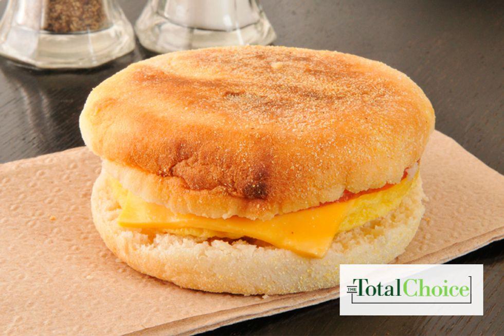 Total Choice Cheesy Egg Sandwich