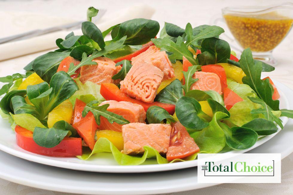 Total Choice Chopped Salmon Salad