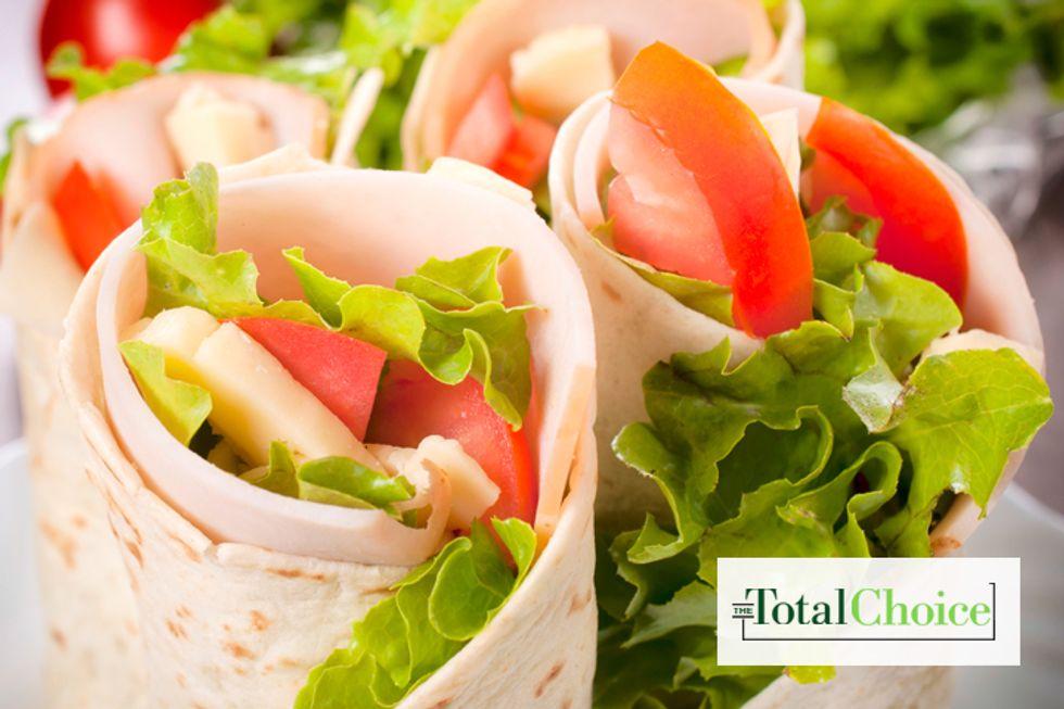 Total Choice Turkey Hummus Wrap