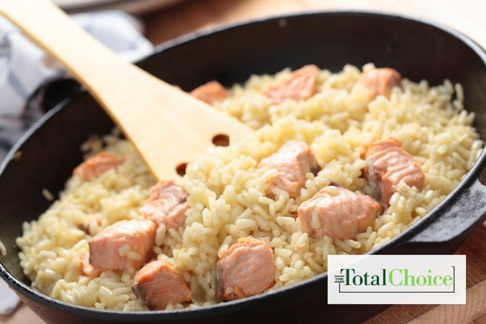 Total Choice Salmon Risotto