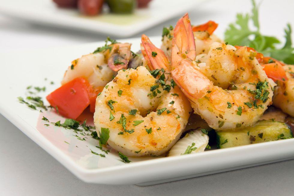 Total Choice Spicy Shrimp Veggie Stir-Fry