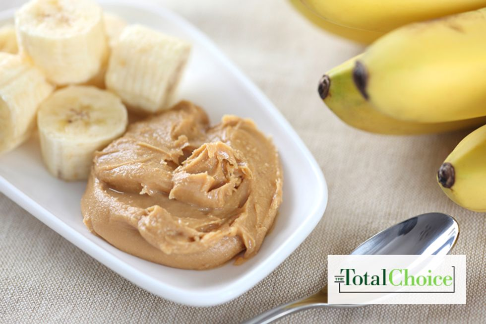 Total Choice Frozen Banana With Peanut Butter
