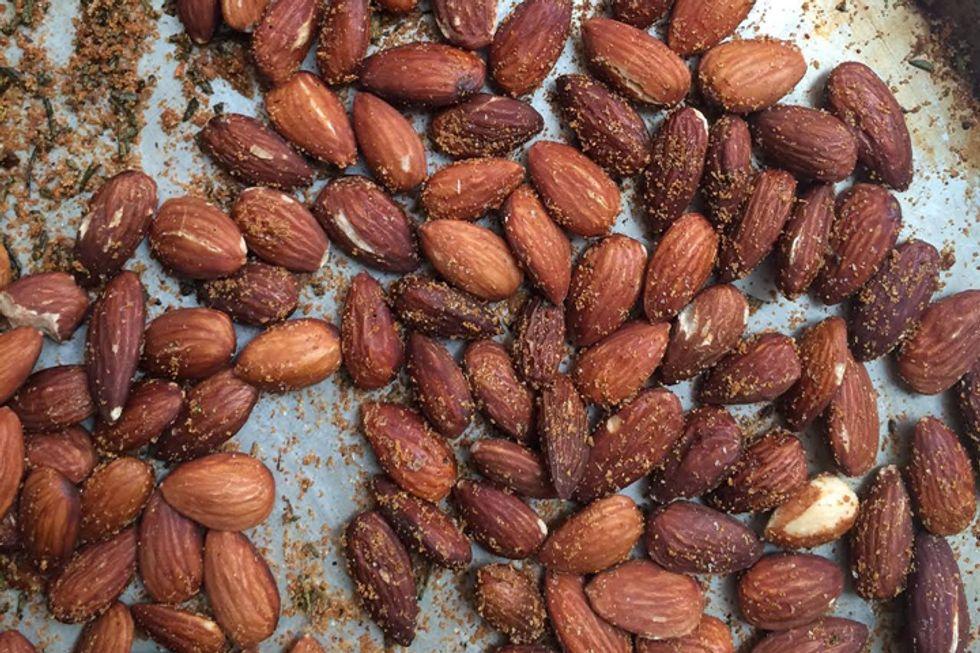 Rosemary-Garlic Almonds
