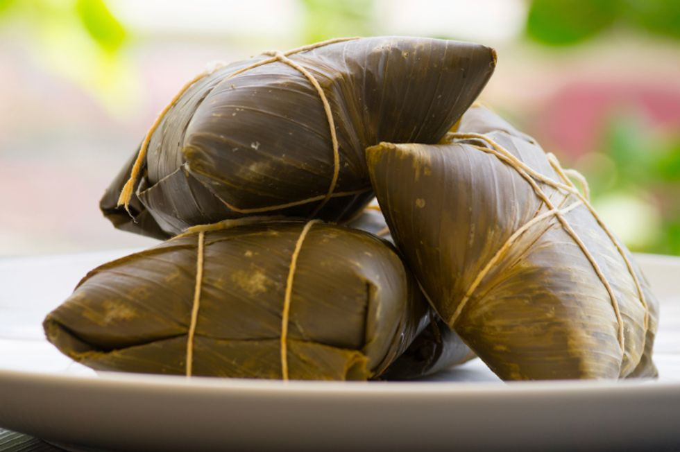 Angie Martinez's Spicy Dark-Chocolate Tamales