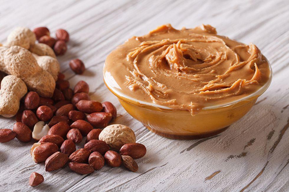 New Year Morning Boost Peanut Butter Breakfast Wrap