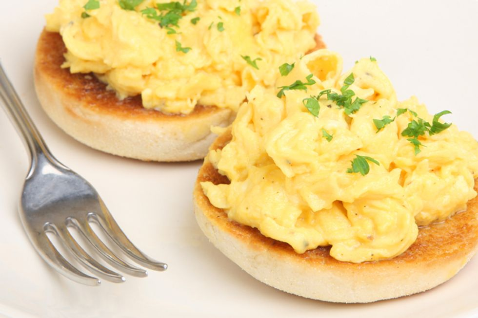 Growing Children Egg Sandwich