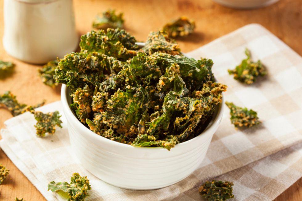 Cayenne Pepper Kale Chips