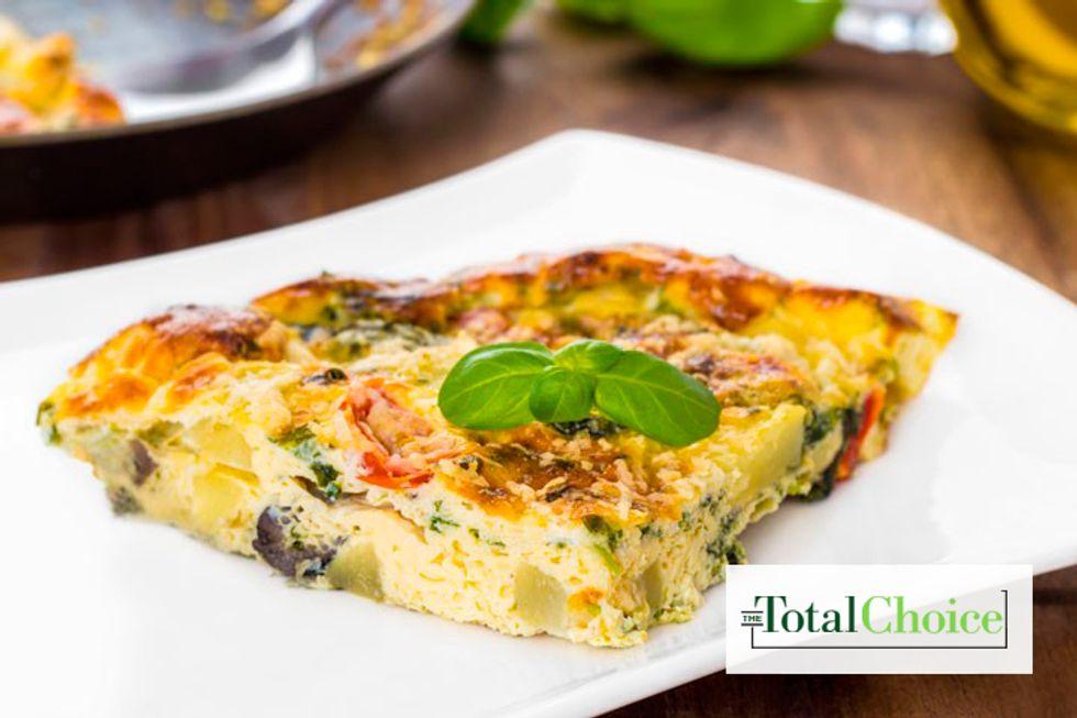 Total Choice 1-Yolk Vegetable Frittata