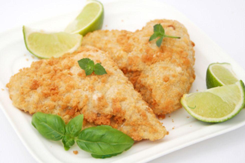 Grilled Lemon Monkfish