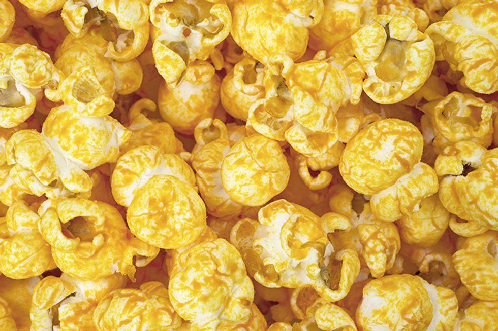 Chili Parmesan Popcorn & Peanuts