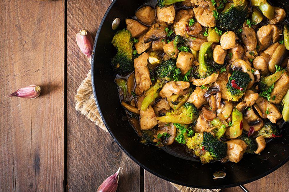 Day-Off Diet Chicken Stir-Fry