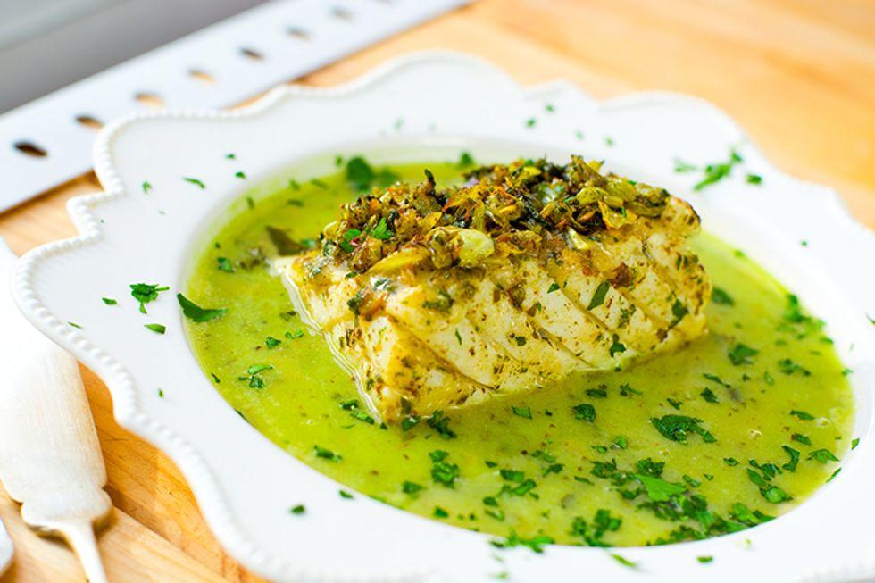 Day-Off Diet Chicken With Salsa Verde