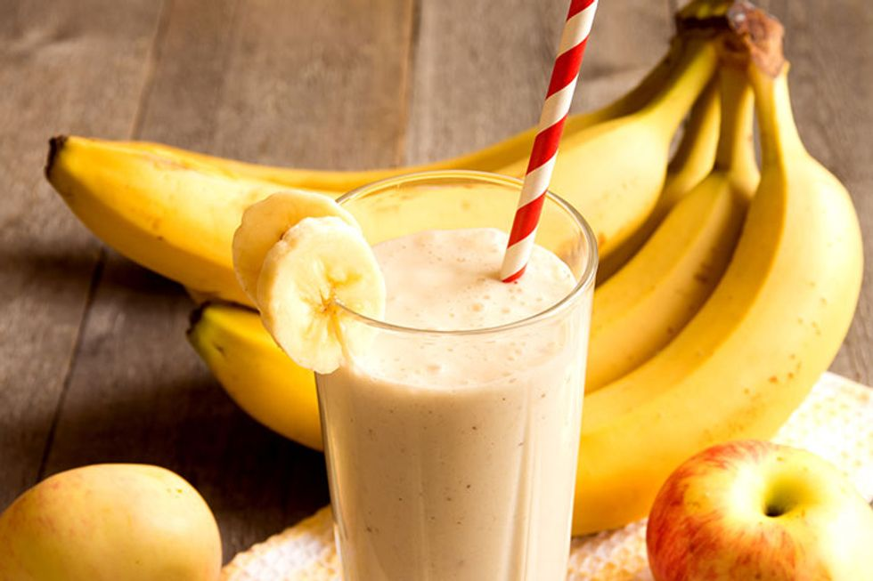 Day-Off Diet Apple-Banana Smoothie