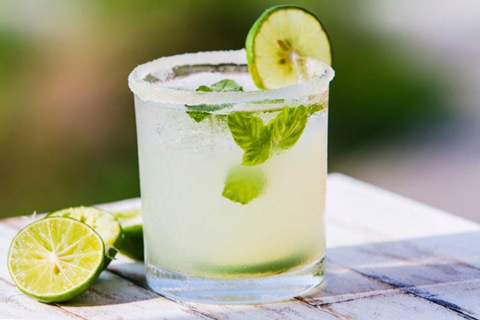 Dos Caminos' Organic Margarita