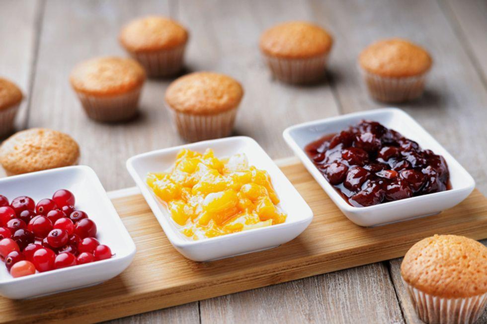 Rocco DiSpirito's Mini Almond Cupcakes With Mixed Berries