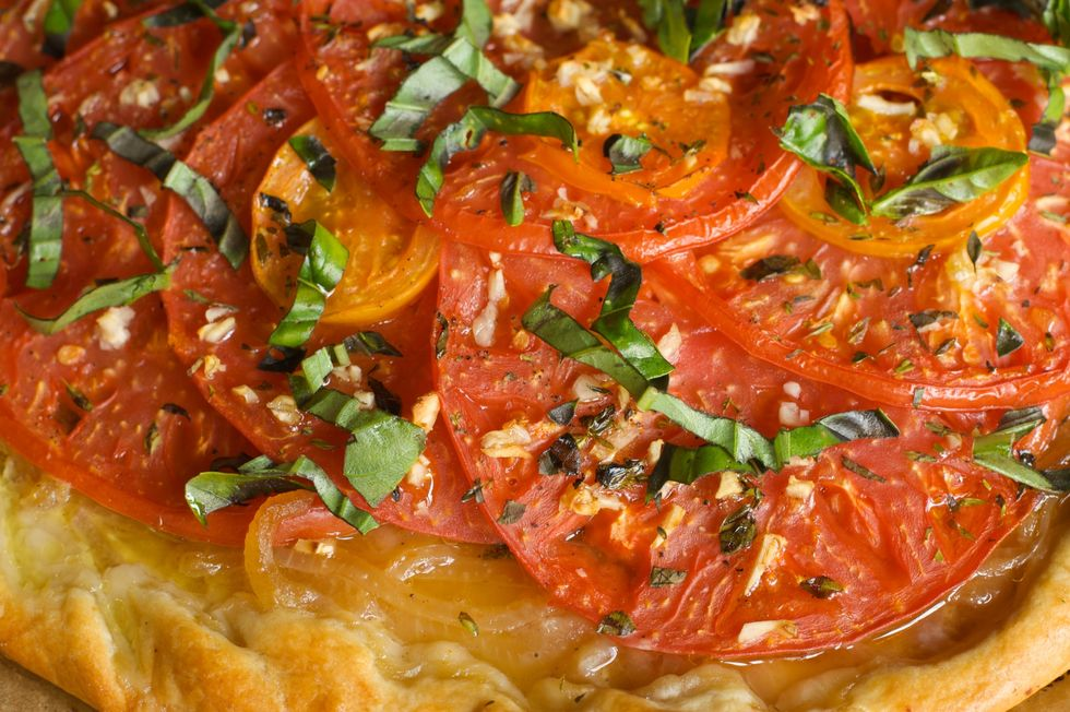 Dr. Joel Fuhrman's Roasted Vegetable Pizza