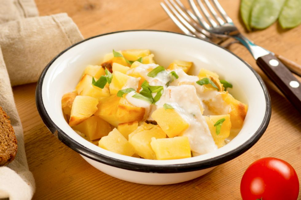 Healthy Mustard Potato Salad
