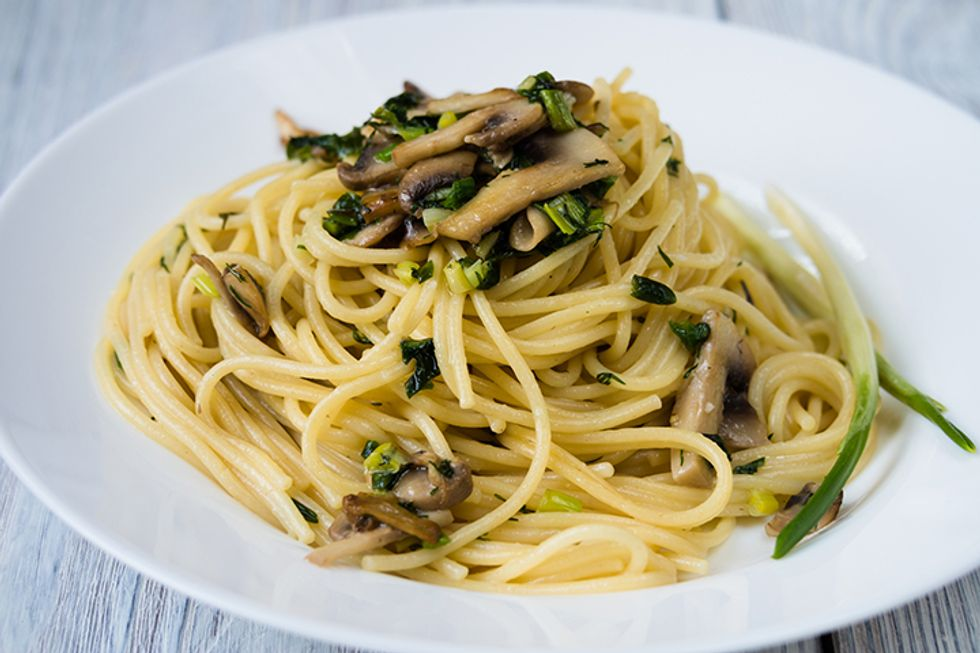 Mark Bittman's Pasta With Funghi Trifolati