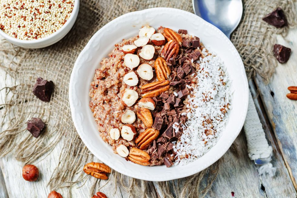 Almond, Cherry, and Chocolate Couscous