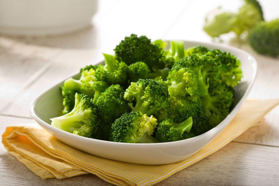Broccoli and Tofu Scramble