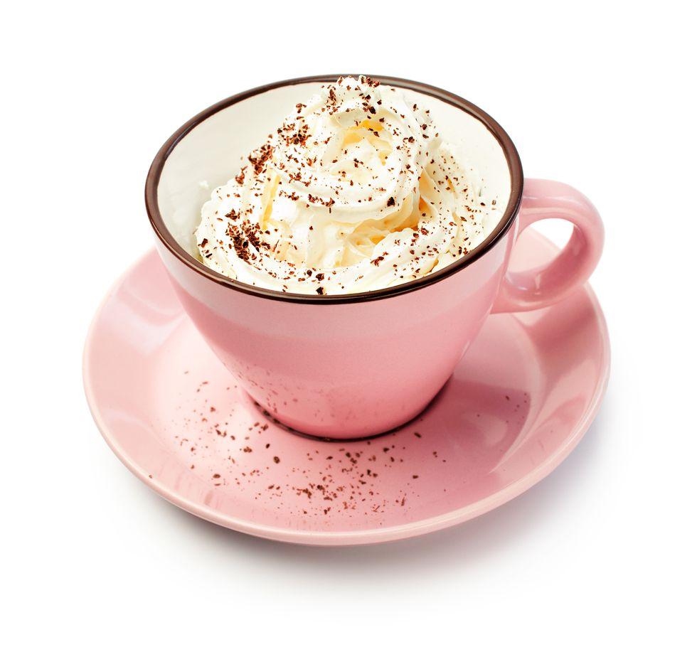 Immune-Boosting Pink Latte