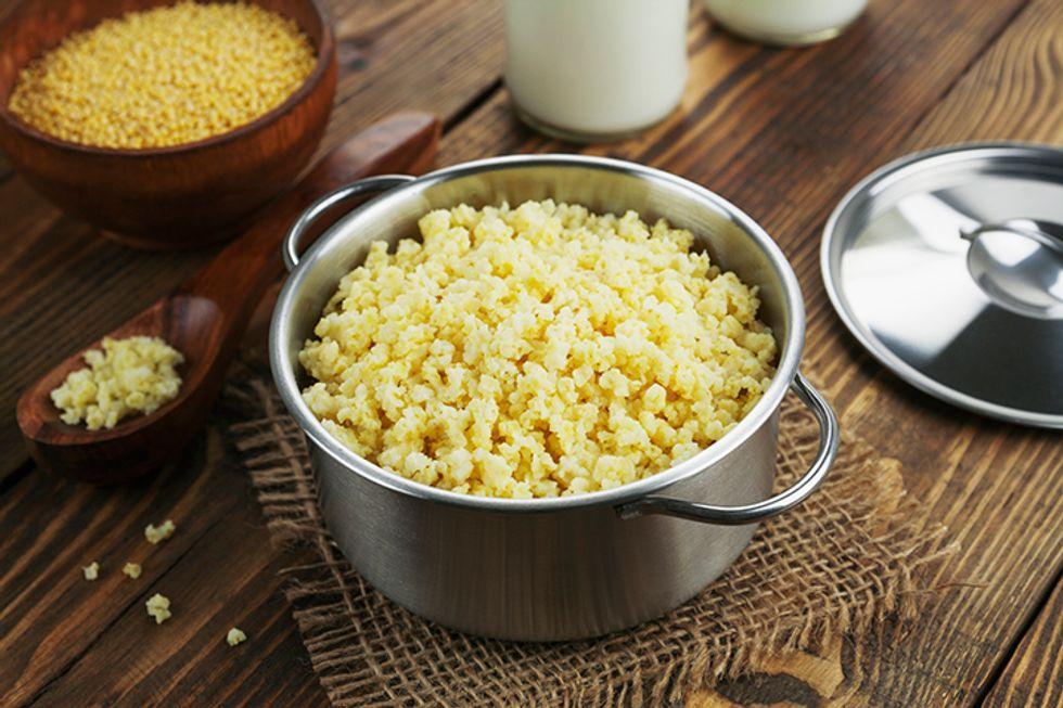 Coconut Millet Porridge
