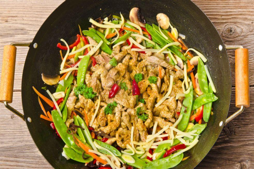 Ming Tsai's Crazy Chicken Watercress Salad