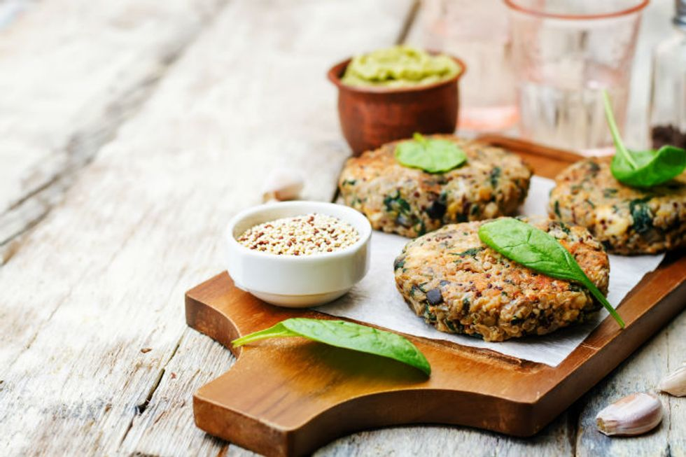 Broccoli Quinoa Patties