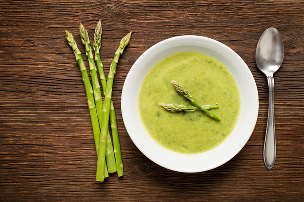 Pegan 365 Asparagus Soup