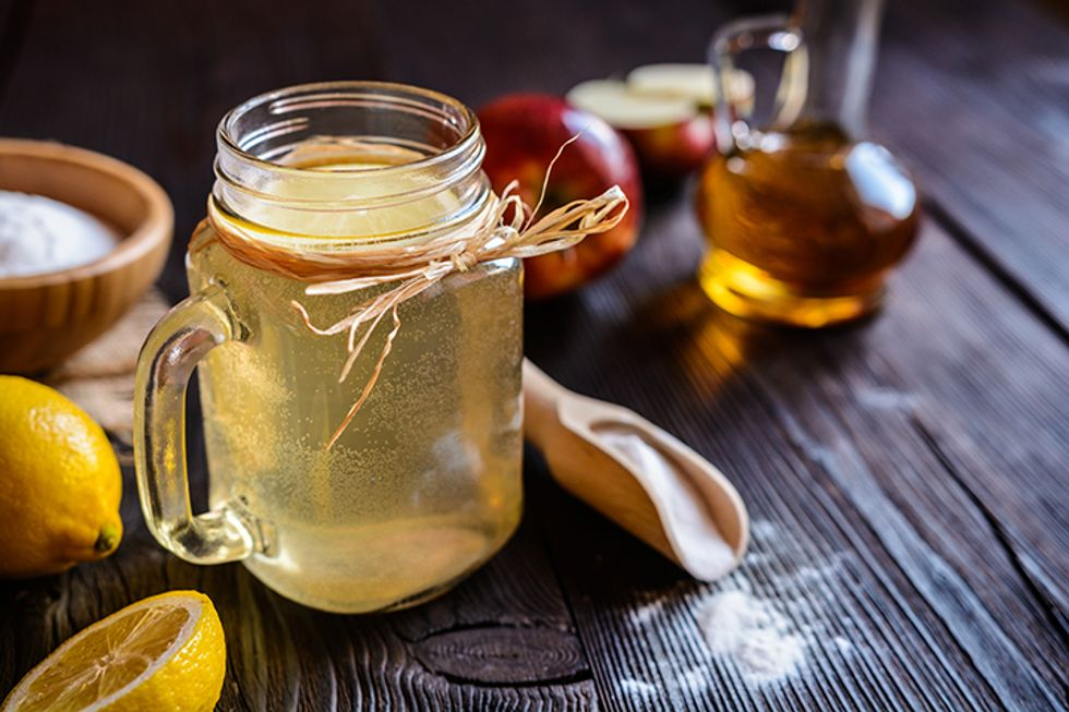Apple Cider Energy Drink