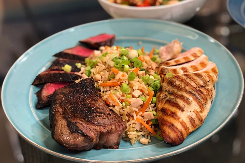 Dr. Oz's Protein Plate